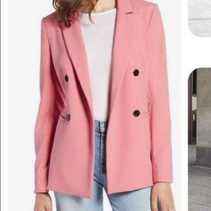 Halogen pink blazer Large